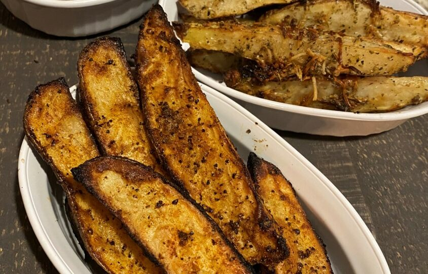 Wedge These into Your Menu Rotation—Baked Potato Wedges Three Ways
