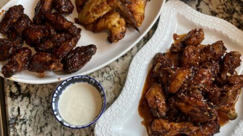 Super Bowl Snack Attack: Wings and Apps for the Big Game + Snack Board Ideas