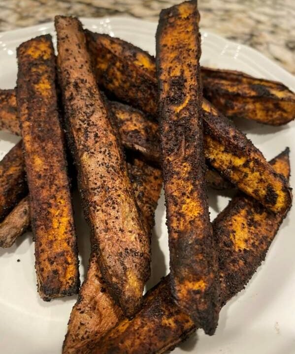 January Coffee Obsession Part 2: Coffee Roasted Sweet Potato Fries