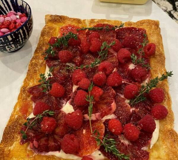 When the Simplest Tart is Also the Prettiest Tart in the Room