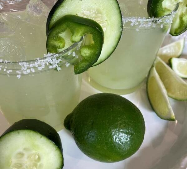 Margarita Mania−Enjoy Cool and Spice and Everything Nice With This Cucumber-Jalapeño Margarita