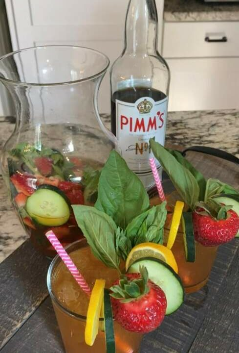 A Proper Pimm's Cup