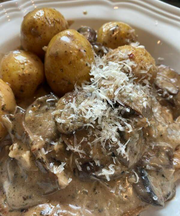 Weeknight Recipe Rescue−Creamy Mushroom Chicken Umami Bomb